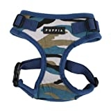 Authentic Puppia Combat RiteFit Harness, Navy, Extra-Large, My Pet Supplies