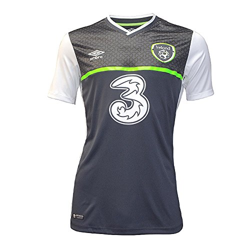 (Umbro 2015-2016 Ireland Away Football Shirt)