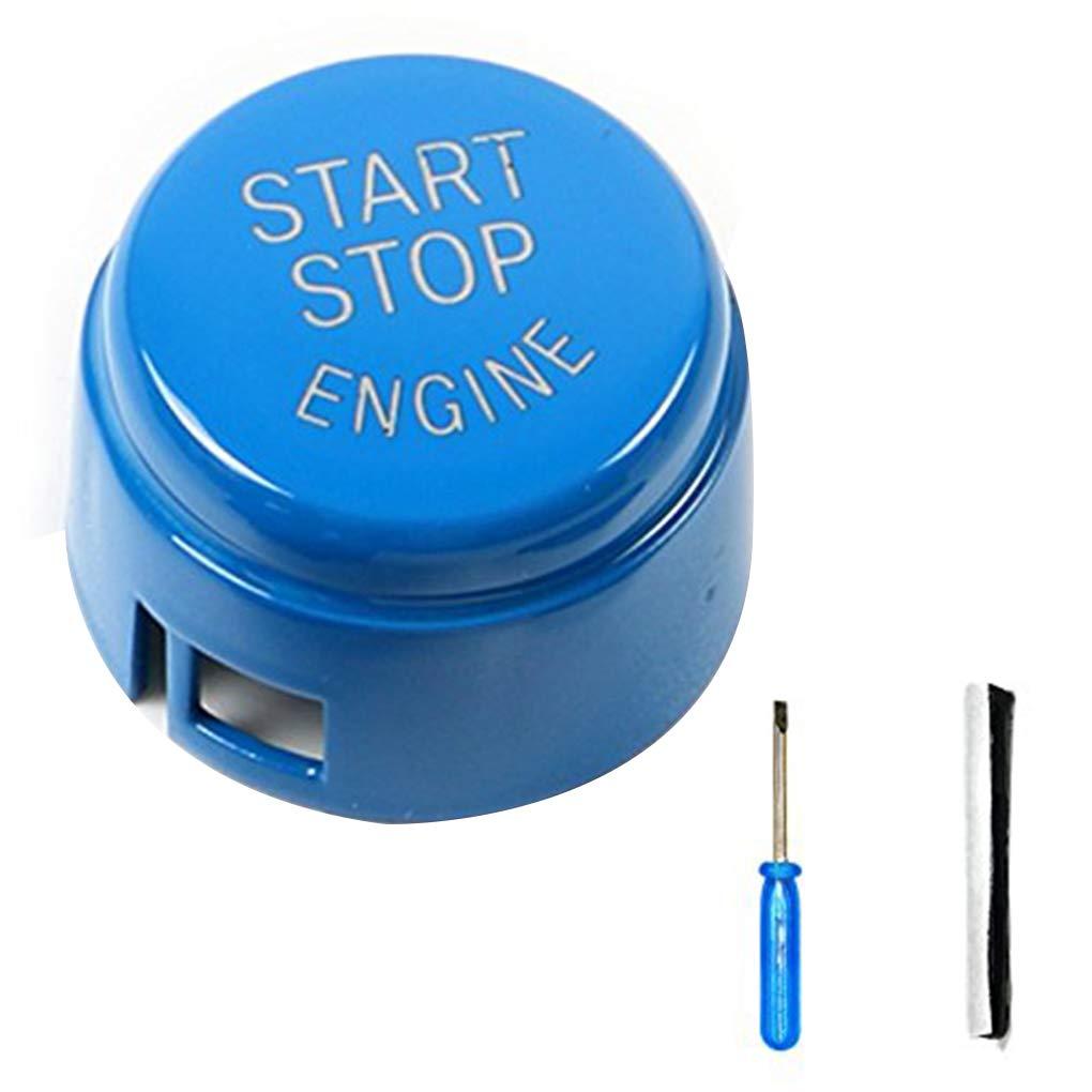 Meisijia Haute qualit/é ABS Voiture de d/émarrage du Moteur Interrupteur darr/êt Bouton Remettre Le Couvercle pour BMW E60 E70 E71 E90 E92