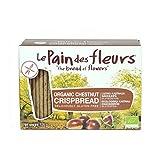 Le Pain Des Fleurs Org Chestnut Crispbread 125G by Le Pain Des Fleurs