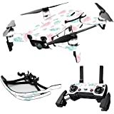 MightySkins Skin For DJI Max Coverage - Paper Flowers | Protective, Durable, and Unique Vinyl Decal wrap cover | Easy To Apply, Remove, and Change Styles | Made in the USA