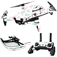 MightySkins Skin for DJI Mavic Air Drone - Paper Flowers | Max Combo Protective, Durable, and Unique Vinyl Decal wrap cover | Easy To Apply, Remove, and Change Styles | Made in the USA
