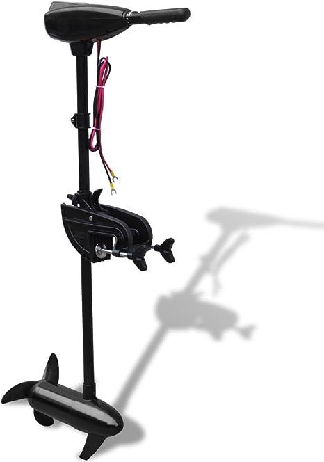 Festnight Motore Fuoribordo Elettrico di Barca da Pesca A Traina Elettrico P25 55 lbs