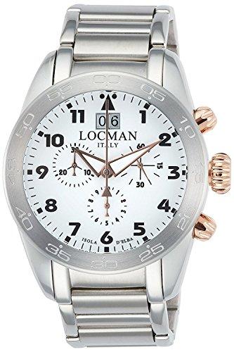LOCMAN watch ISOLA D'ELBA 0460M08-0RWHBKB0 Men's