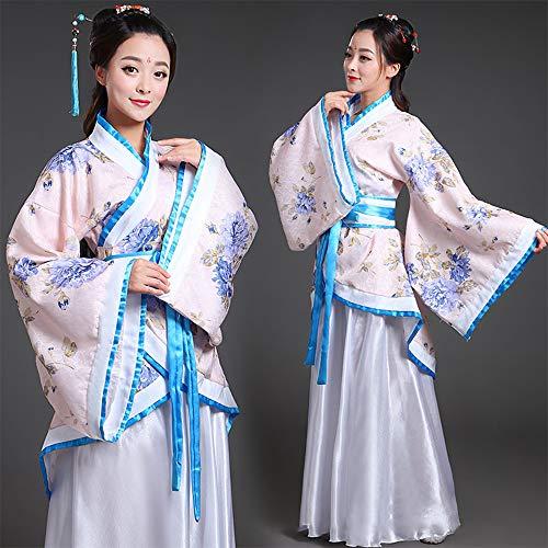 Abiti Spettacoli Cosplay Costume Zevonda Cinese Principessa Antico Bianco Costume Longue Donne Hanfu Delle Costume Tradizionali nP7PIq