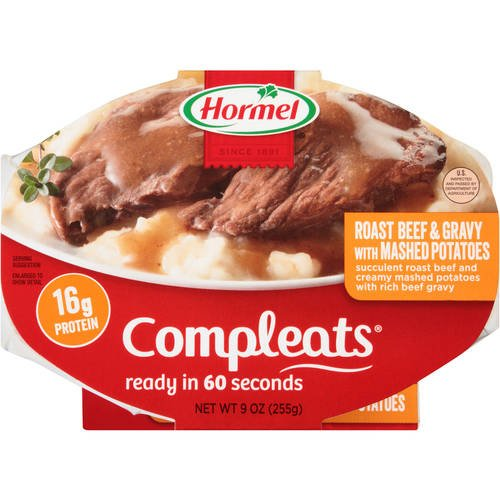 Compleats Roast Beef & Gravy with Mashed Potatoes Roast Potatoes