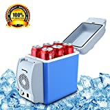 VYVERN Portable 7.5L Cooling Warming Vehicle Fridge Freezer Mini Dual-Mode Car Refrigerators 12v Icebox Travel Home Refrigerator 3 Hole