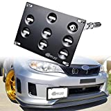 GTP Front Bumper Tow Hook License Plate Mounting