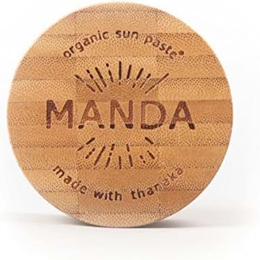 MANDA Organic Sun Paste - SPF 50 Sunscreen - 40g