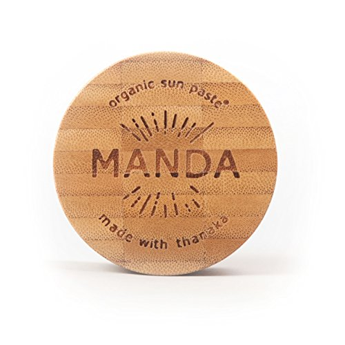 Manda Organic Sun Paste - SPF 50 Sunscreen - (Spf 40 Active Sunblock)