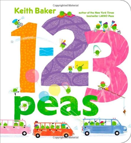 1-2-3 Peas (The Peas Series) Board book – May 6, 2014