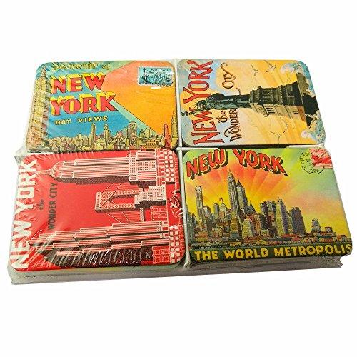 Ninja souvenirs New York Set of 24 refrigerator magnets magnetic fridge sticker home decoration accessories magnet paste arts crafts