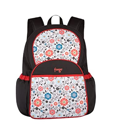 Thermos Foogo Backpack Diaper Bag, Poppy Patch by Thermos