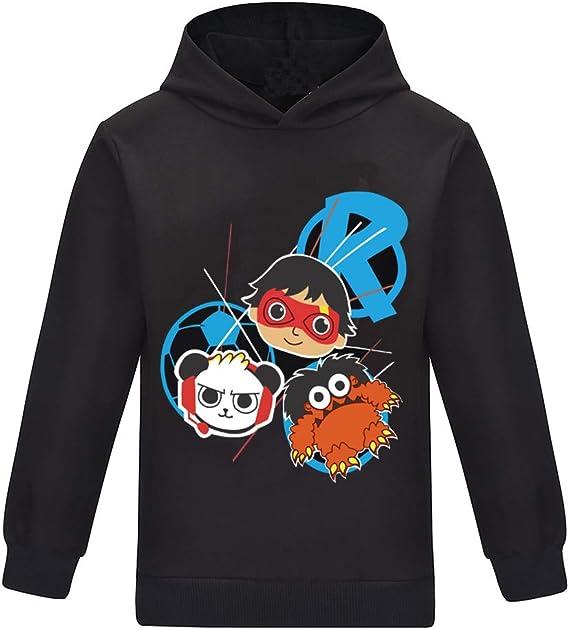 Ryan Toys Review Hoodie Sweatshirt Jumpers Girl Boys Kids T-shirt Top Tshirts UK