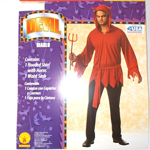 (Diablo Devil Mens Adult Costume Shirt Large 36-38)