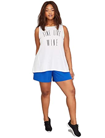 90911f2241a Lane Bryant Livi Wicking Graphic Active Tank Top at Amazon Women s ...