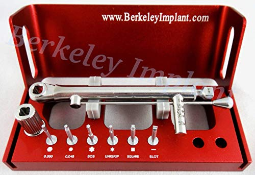 Dental Implant Multi-Driver Set for Dental Practices by Berkeley Implant