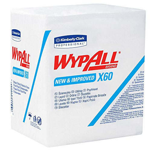 Wypall Reusable Cloths Quarterfold Washcloths