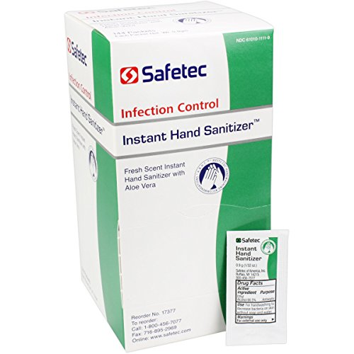 Safe Tec Sanitizer Packets Safetec America