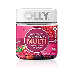 OLLY Perfect Womens Multi Vitamin Gummy Supplements