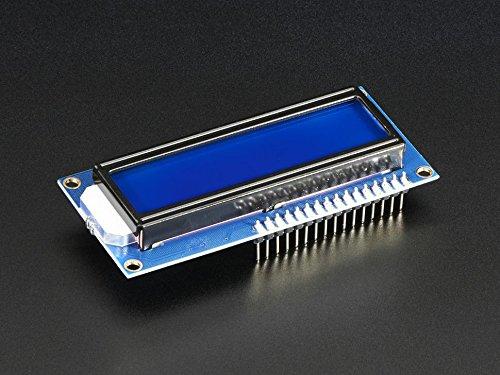Adafruit Assembled Standard LCD 16x2 + extras - White on Blue [ADA1447]