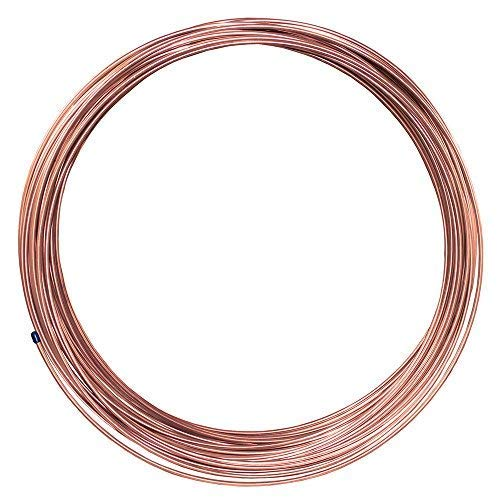 7,146 PSI Wall Thickness - BP .028 25 ft 5//16 in Copper-Nickel Fuel or Transmission Tubing Coil