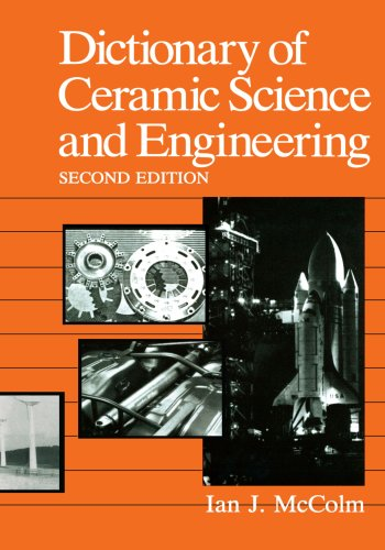 Dictionary of Ceramic Science and Engineering ()