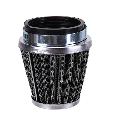 Gavita-Star - Universal 48mm 49mm 50mm Motorcycle Air Intake Filter Cleaner Mushroom Head Motorbike Air Filters Motor Accessories