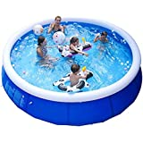 Above Ground Pool,Portable Swimming Pool,Up to 2 Adults and 4 Children,Swimming Pools Round Thick Anti-Crack for Summer Kids, Adults, Garden Water Park Pool