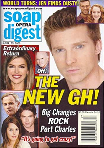 Steve Burton Finola Hughes Tristan Rogers Sharon Wyatt General Hospital Colin Egglesfield Bed Hoppers April 25 2006 Soap Opera Digest Magazine American Media Amazon Com Books