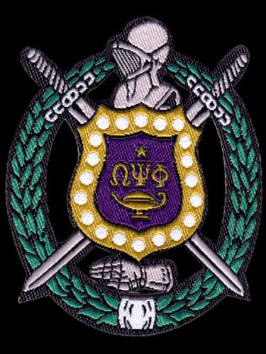 omega psi phi fraternity patches - 4