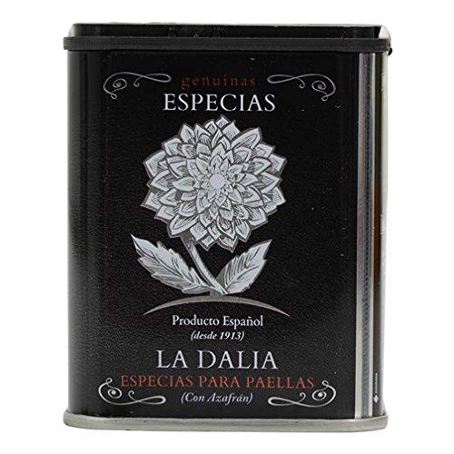 Spanish Paella Seasoning by La Dalia (3.5 ounce)