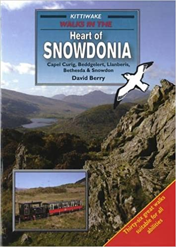 Book Walks in the Heart of Snowdonia: Capel Curig, Beddgelert, Llanberis, Bethesda and Snowdon