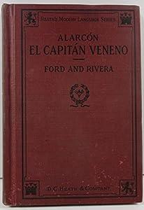Hardcover Alarcon El Capitan Veneno Por Pedro Antonio (Heath's Modern Language Series) Book