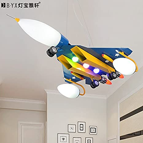 LTERD Aviones individuales los niños habitación lámparas ...