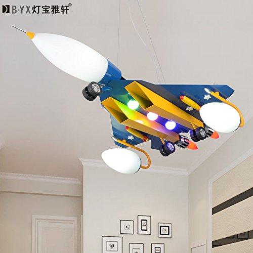 LTERD Einzelne Flugzeuge Kinder Zimmer Lampen Kronleuchter kreative ...