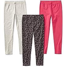 Spotted Zebra Girls' 3-Pack Leggings