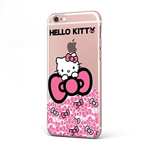 GSPSTORE Iphone 7 plus Case Hello Kitty Soft Transparent TPU Protector Case Cover for Iphone 7 plus(5.5 inches) #02 (Contact Case Hello Kitty)