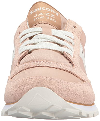 Saucony Jazz White Femme Chaussures Original de Cross Tan rrcRp8S