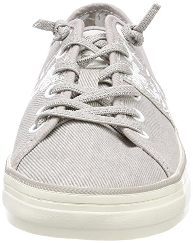 23611 lt Sneakers Basses Femme S Gris Grey oliver wt8nxxY5