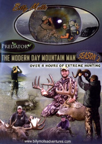 (Season 2 The Modern Day Mountain Man : Brown Bear, grizzly bear, Dall sheep, caribou, and moose hunting in Alaska and Whitetail hunting from Canada and Wisconsin, 11 hunts over 4 hours!)