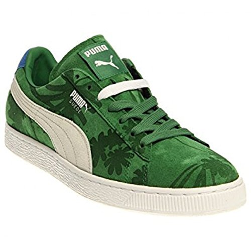 Puma Mens Classic Tropicali Green Sneakers 10.5 D US (Puma Green Sneakers)