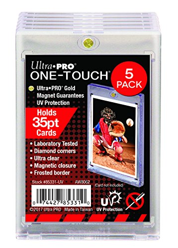 Ultra PRO 35-Point ONE-Touch Magnetic Trading Card Holder (Pack of 5)