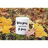 Hocus Pocus I Need Coffee to Focus Mug | Halloween | Fall Mugs | Hocus Pocus