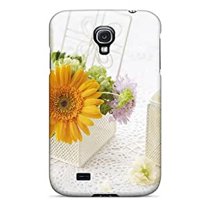 New Arrival ASILE16945IsDyl Premium Galaxy S4 Case(mother S Day Beautiful Flower Decorating With Flowers)