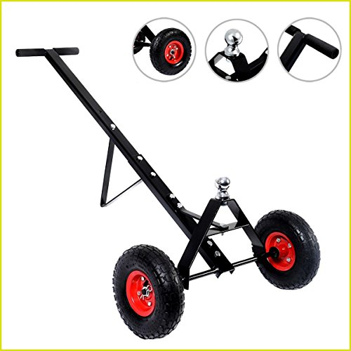 Hand Dolly Trailer Mover Utility 600LBS Capacity Heavy Duty Construction Hitch Boat Jet Ski Camper Automotive Repair Tools - House Deals