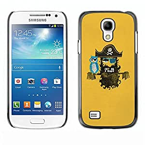 Paccase / SLIM PC / Aliminium Casa Carcasa Funda Case Cover para - Pirate - Samsung Galaxy S4 Mini i9190 MINI VERSION!