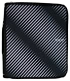 Five Star 2 Inch Zipper Binder with 6-Pocket Expanding File, Durable, Black (72536)
