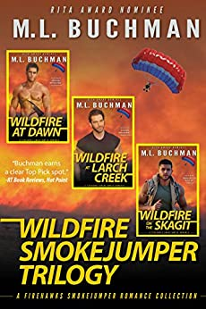 Wildfire Smokejumper Trilogy (Firehawks Book 13) by [Buchman, M. L.]