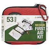 Lifeline 53 Piece First Aid Kit (Red)